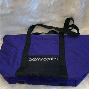 Bloomingdales reusable shopping bag